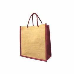 Juteberry Jute Laminated Carry Bag