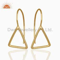 Designer Gold Plated Earring