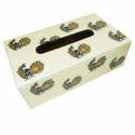 MDF Wooden Tissue Box
