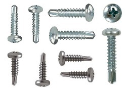 CSK Phillips Head Ribbed Self Drilling Screws