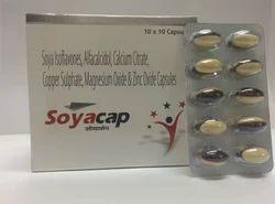 Soya Isoflavones Soft Gel Capsules