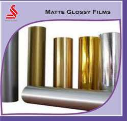 Lamination And Decorative Polyester Film Metalized Gold