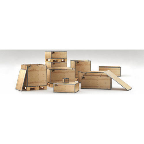 Nailless Boxes - Nailless Plywood Box Manufacturer from Delhi