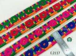 Embroidered Lace E2117