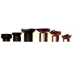Cylindrical Risers For Buffet Display