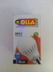 Olla LED Bulb 3watt