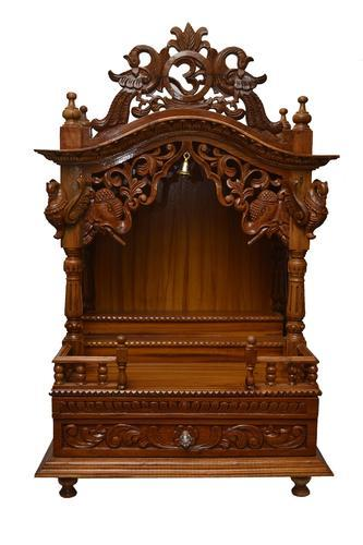 Wooden Temples Wooden Pooja Mandir Manufacturer From