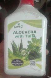 Organic Tulsi Aloe Vera Juice