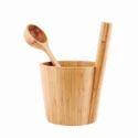 Sauna Bath Bucket & Ladle