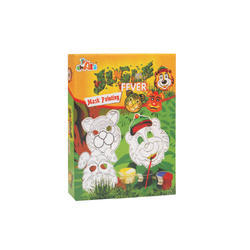 Jungle Fever Mask Painting Board Games