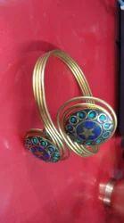 Brass Designer Ring