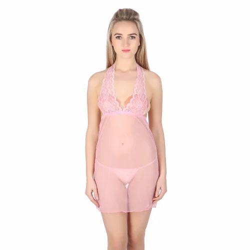 Ladies Babydoll Nightwear - Ladies Baby Doll Sleep Wear Wholesale Trader  from New Delhi e34d7c3ec