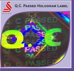 Genuine Export Quality Hologram Labels