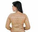 Designer Golden Simmer Blouse 3/4 Sleeve