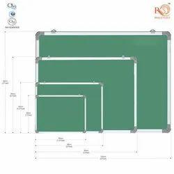 RKS Non Magnetic Green Chalk Board