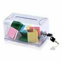 Plastic Name Card Drop Box