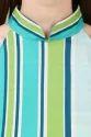 Fancy Green Stripe Top