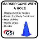 Marker Cone with Hole
