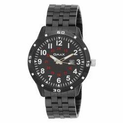 OMAX Analog Black Dial Men's Watch - TS524