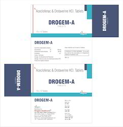 Drotaverine And Aceclofenac Tab