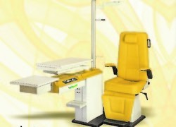 Ophthalmic Chair and Stand Unit