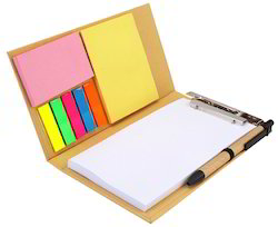 Eco Friendly Note-Pad Diary With Sticky Notes