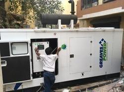 500 kVA Greaves DG Sets