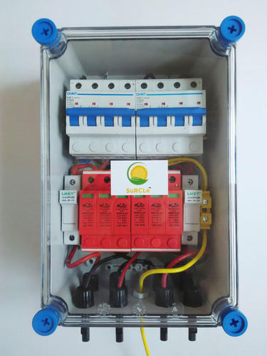 Solar Combiner Box Dcdb Surcle Solar On Grid 2 In 2 Out