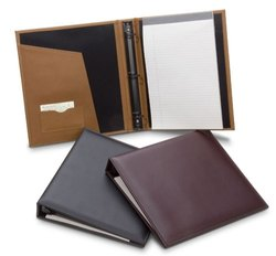 Leather Book Style Ring Binder
