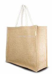 Cord Handle Jute Shopping Bags