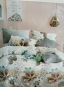 Sispara Bed Sheet Rosepetal