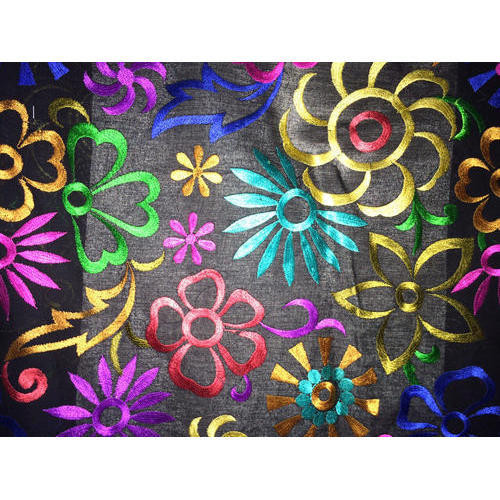 Embroidery Fabric Embroidered Fabrics Exporter From Surat