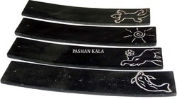 Black Stone Incense Stick Holder