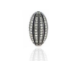Diamond Barrel Beads Findings