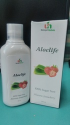 Aloe Vera Juice - Strawberry Flavor