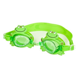 Swimming Goggle for Kids, Frog Shape, Polycarbonate Lens