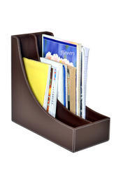 Leatherette Magazine Holder