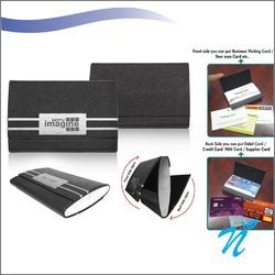 Dual Side Opening Visiting Card Holder NICP-1122