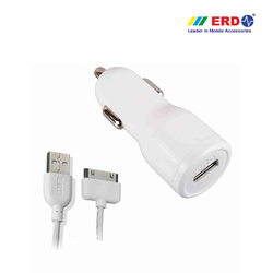 CC 40 iPh 4 White Car Charger