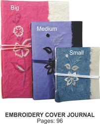 Embroidery Cover Note Book
