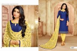3/4 Sleeve Hasya Salwar Suit Fabric
