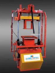 Manual operated block making machine