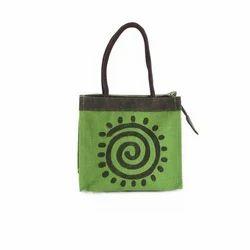 Jute Berry Jute Green Tiffin Bags