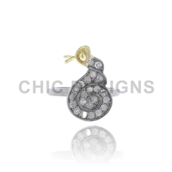 Snail Charms Mid Ring Jewelry