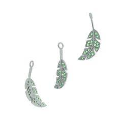 925 Silver Gemstone Charm Pendant