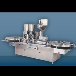 Injectable Powder Filling with Rubber Stoppering Machine