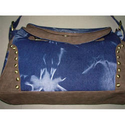 f7999a61a9 Ladies Bag - Denim Handle Bag 100% Export Oriented Unit from New Delhi