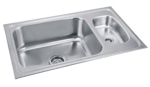 Double Bowl Sinks - Double Bowl with Cutlery Bowl Kitchen Sinks ...