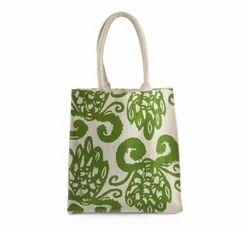 Printed Jute Fancy Bag