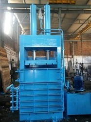 Hydraulic Baling Press For Raffia Cement Bag